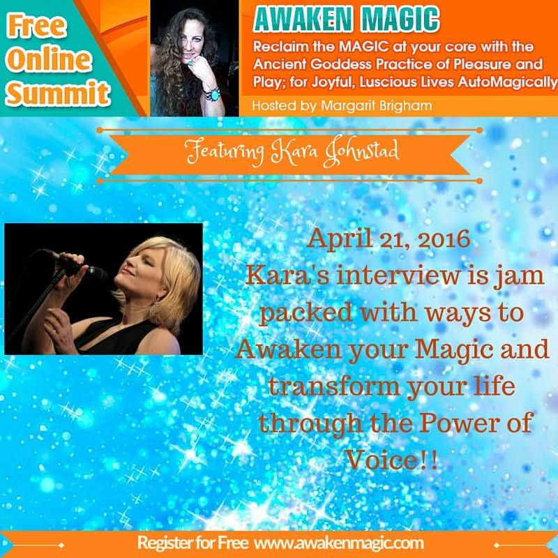 Awaken Your Magic Through the Power of Voice